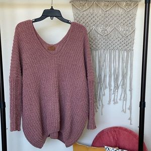 🤩 HP 🤩 POL | Oversized V-Neck Sweater